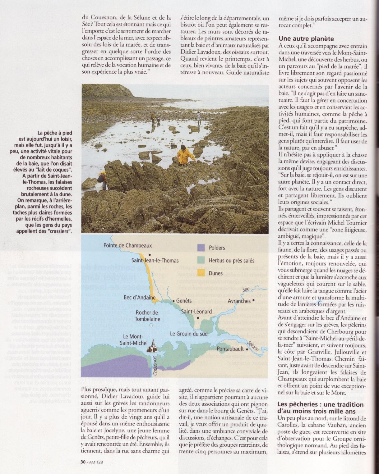 reportage traversée baie mont saint michel